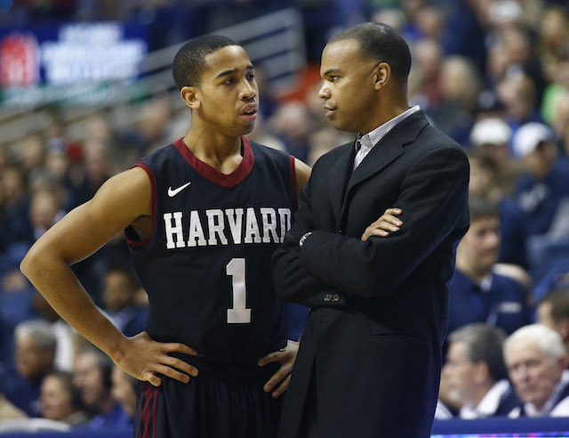 Siyani Chambers (left) and Tommy Amaker could lead Harvard to a win over Cincinnati. (USATSI)