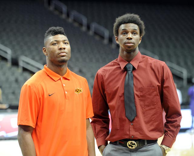 Marcus Smart and Andrew Wiggins epitomize the battle between returnees and freshman. (USATSI)