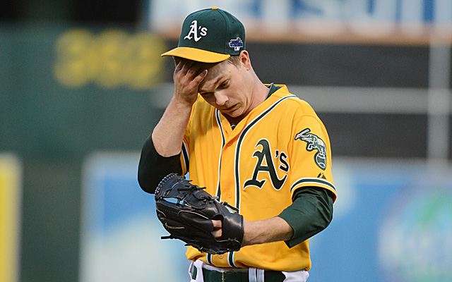 Thursday was a rough day for Sonny Gray in terms of the final score and his health.