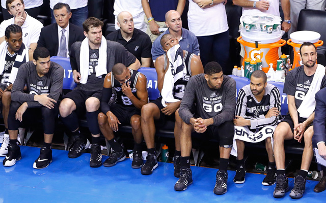 Gregg Popovich benched his starters early in Game 4.   (USATSI)