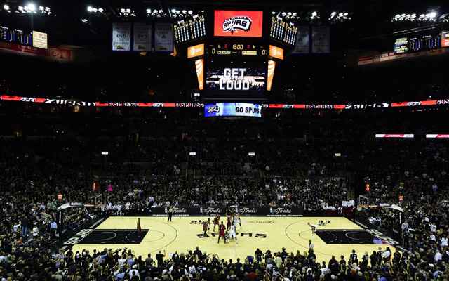 Game 2 is Sunday in San Antonio.  (USATSI)