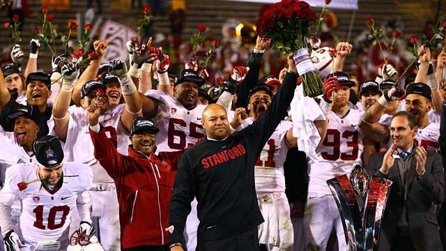 Stanford won the Pac-12 and played in the 2014 Rose Bowl. (USATSI)