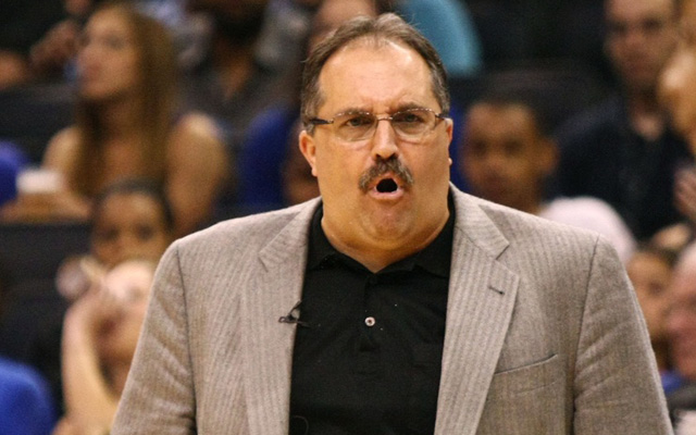 Stan Van Gundy will take over coaching and running the Pistons. (USATSI)