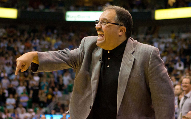 The Pistons are reportedly making a play for Stan Van Gundy. (USATSI)