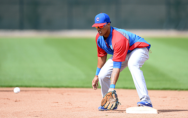 Starlin Castro will miss some time due to a hamstring injury.
