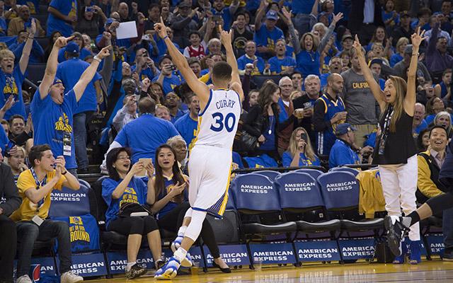 Stephen Curry made history Wednesday night. (USATSI)