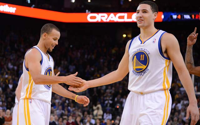 The Splash Brothers think they're staying together.  (USATSI)