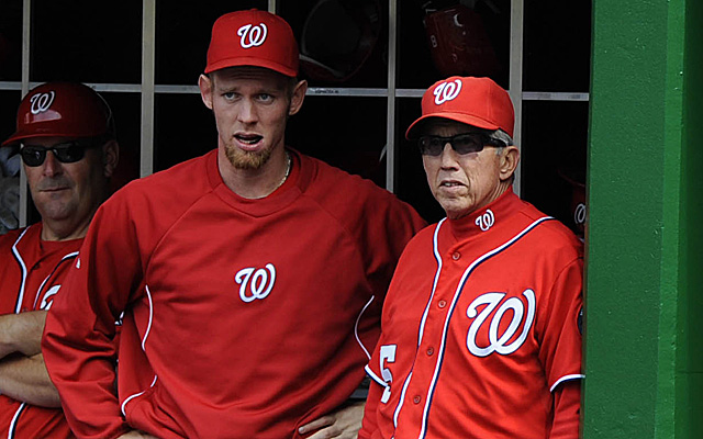 Davey Johnson thinks his club would have taken the World Series with his ace.