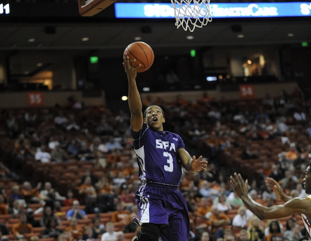 Stephen F. Austin has won 22 straight games and is unbeaten in the Southland. (USATSI)