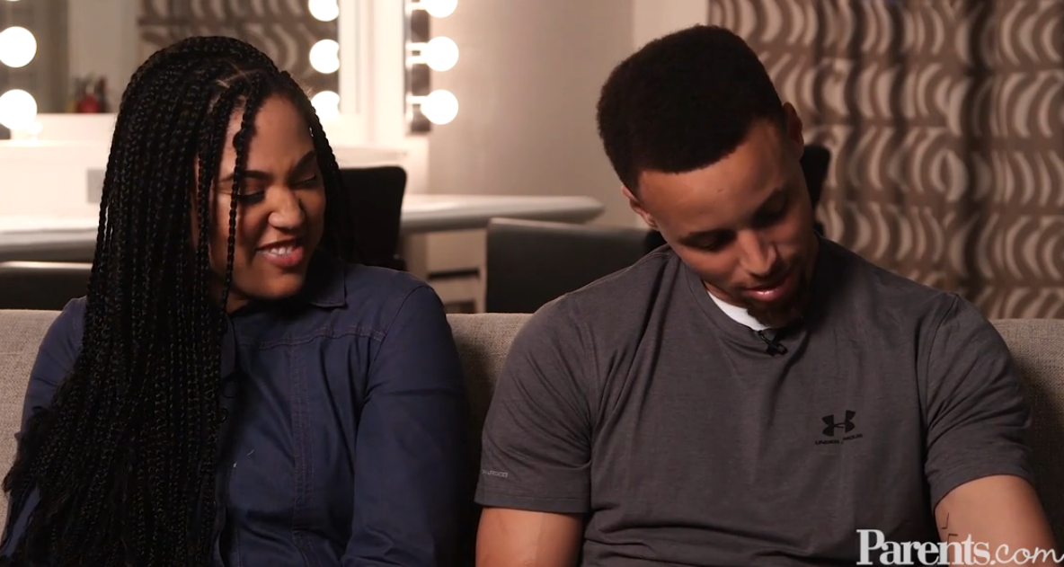 Steph talks about the inspiration behind his and Ayesha's tattoos.