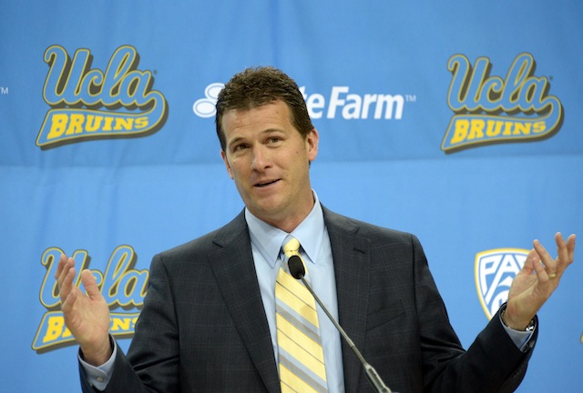 Steve Alford left New Mexico to become the new head coach at UCLA. (USATSI)