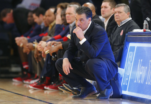 Steve Lavin and St. John's need a win over Providence. (USATSI)