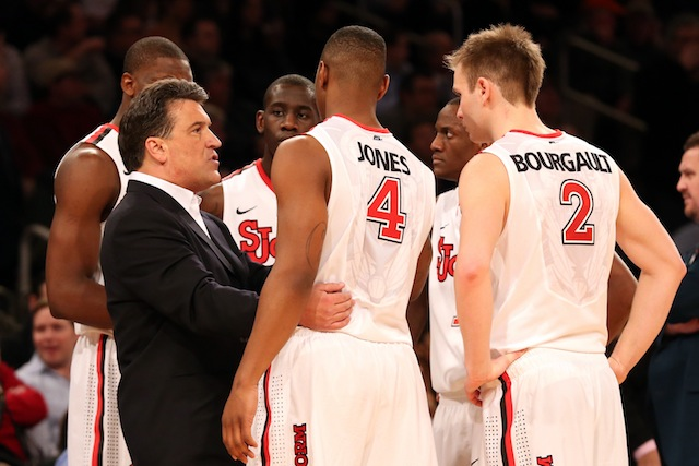 Steve Lavin and St. John's could have the pieces to reach the NCAA tournament next season. (USATSI)