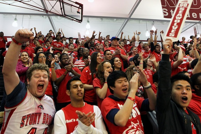 Especially on its homecourt, Stony Brook is the favorite heading into the America East tournament. (USTASI)