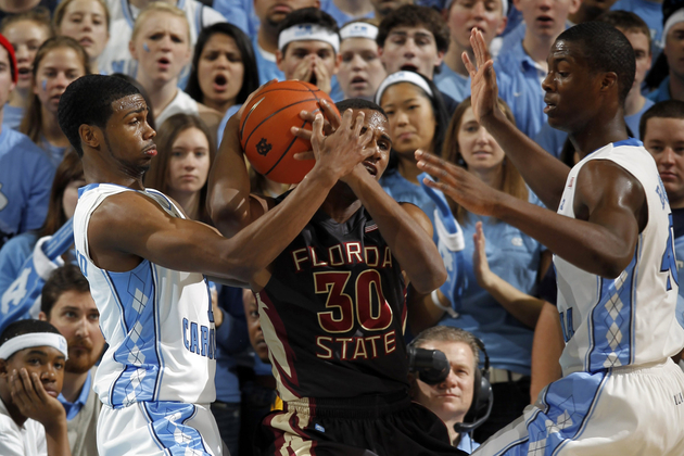 Dexter Strickland and Harrison Barnes have UNC humming