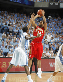 Dexter Strickland is a big part of UNC's defensive game plan.