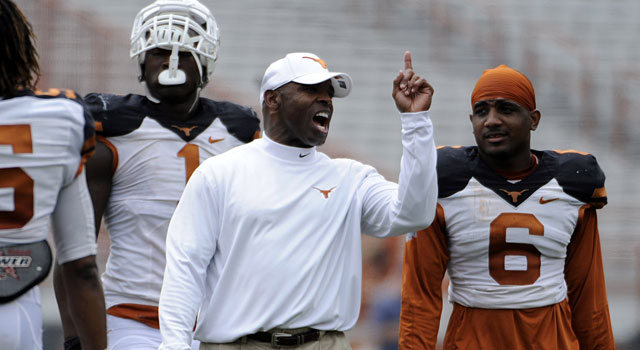 Will Charlie Strong turn Texas back into a national power? (USATSI)
