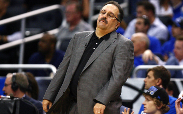 Stan Van Gundy could make as much as $35 million. (USATSI)