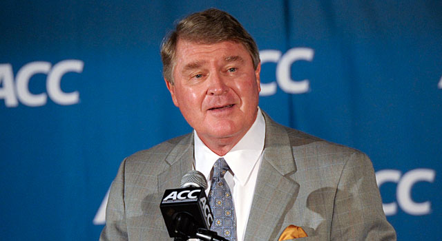 ACC commissioner John Swofford is waiting to see how everything plays out.