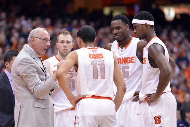 Jim Boeheim and Syracuse have all of the pieces needed to cut down the nets in April. (USATSI)