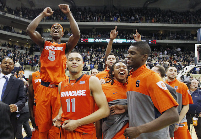 Will the magic of Tyler Ennis and Syracuse run out this weekend? (USATSI)