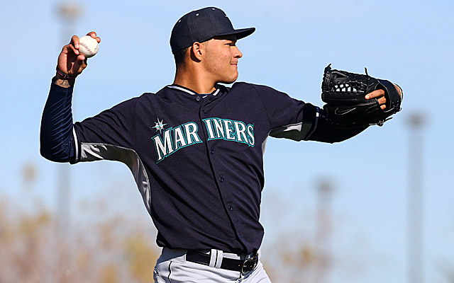 Taijuan Walker appears poised to enter the Mariners rotation very soon.