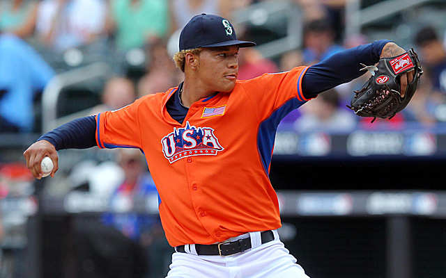 Taijuan Walker, throwing in last season's Futures Game.