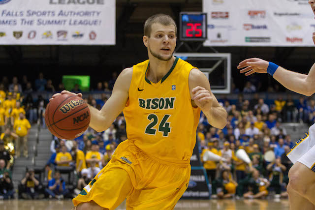 Taylor Braun is capable of carrying North Dakota State to a win or two in the dance. (USATSI)