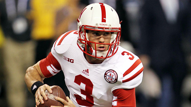 Taylor Martinez has a combined 9,449 yards in three years at Nebraska. (USATSI)