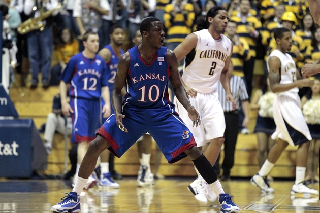 Tyshawn Taylor could be playing his last home game at Allen Field House.