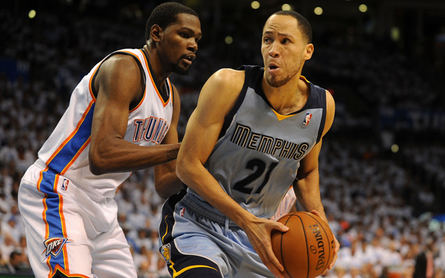 Tayshaun Prince could be headed to Toronto.    (USATSI)