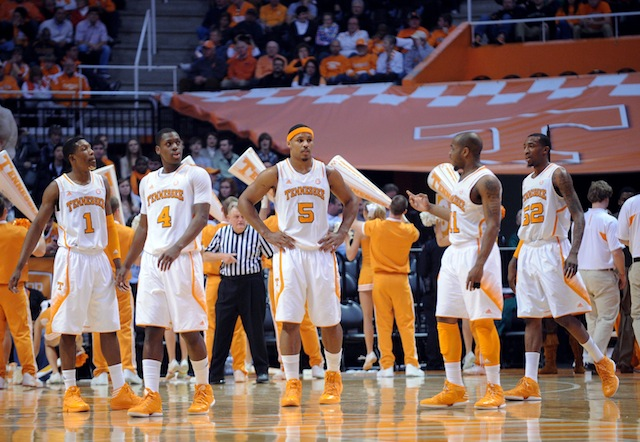 Tennessee is squarely in the at-large discussion after securing a big-time win over Florida. (USATSI)