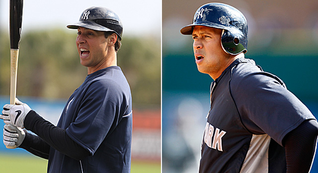 Mark Teixeira Alex Rodriguez