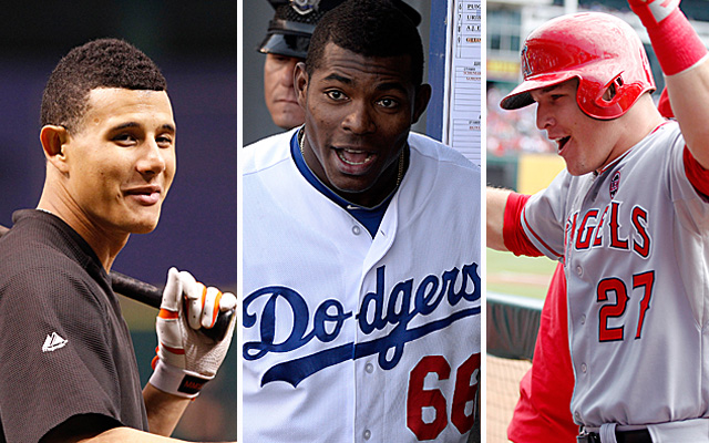 Getting to see young talent like Machado, Puig and Trout? Yes, we're thankful for that.