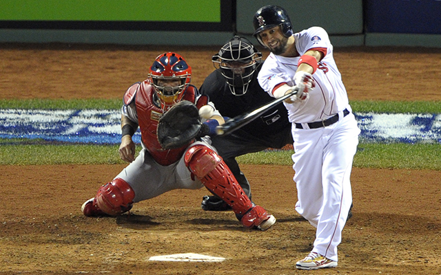 Shane Victorino's two-out, three-RBI double got the Red Sox going in Game 6.