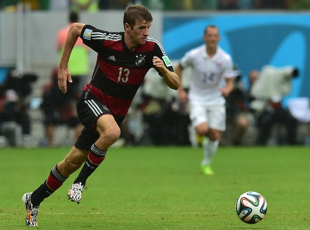 Thomas Muller scored four goals in the group stage. (Getty Images)