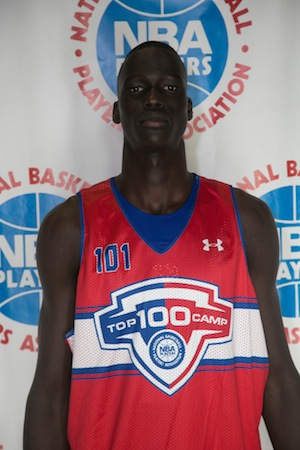 Thon Maker is No. 2 in the class of 2016. (Davide De Pas)