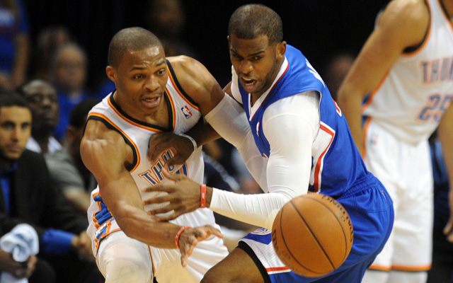 The Thunder were held in check by the Clippers in Game 1. (USATSI)