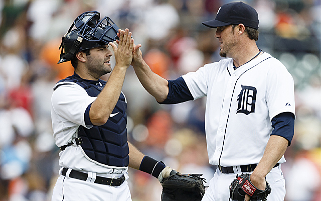 The Tigers finished their Detroit sweep of the A's with a blowout win Wednesday.