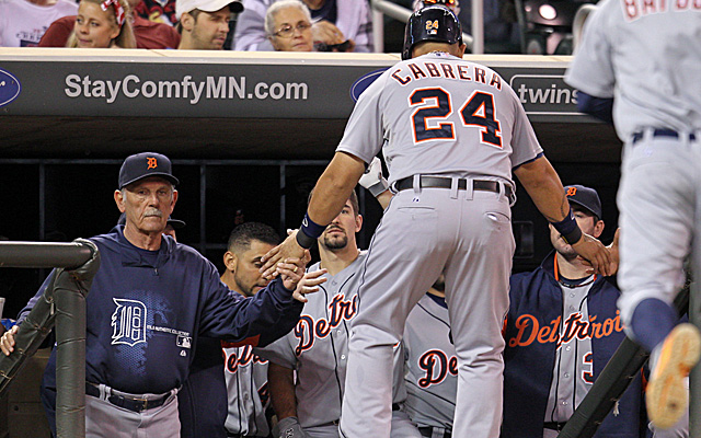 Jim Leyland and his troops are looking to clinch their third straight AL Central title.