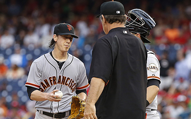 Tim Lincecum has struggled mightily of late.