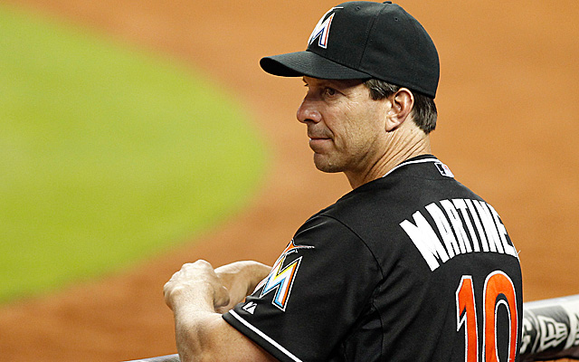 Tino Martinez has allegedly abused some of his Marlins hitters.