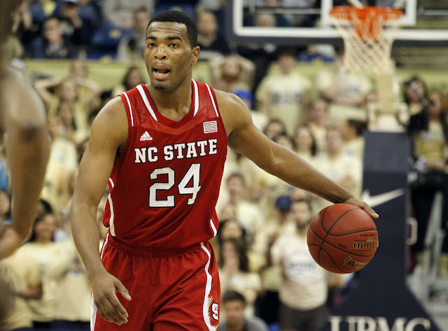 T.J. Warren is back in the dance; can he carry the Wolfpack to a win? (USATSI)