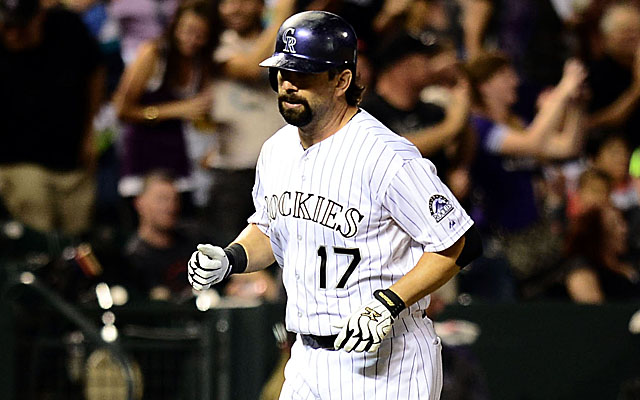 Todd Helton has decided that 2013 is his last season.