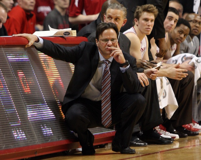 Tom Crean has had to adjust his 2014 recruiting board multiple times in the past two months. (USATSI)