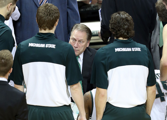 Tom Izzo's experience in the NCAA tournament gives Michigan State an edge in March. (USATSI)