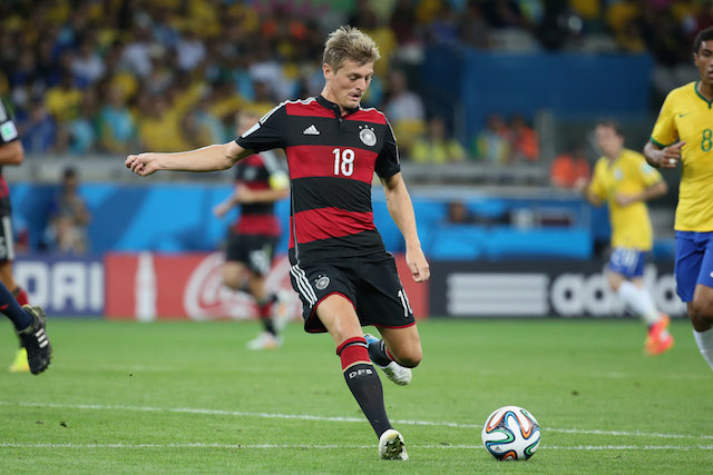 Toni Kroos was consistently pulling the strings of the potent Germany attack. (Getty Images)