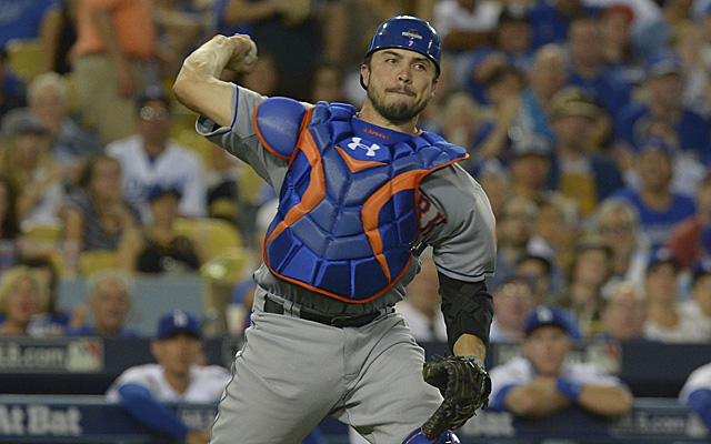 mets might need catching help now that d'arnaud is out indefinitely