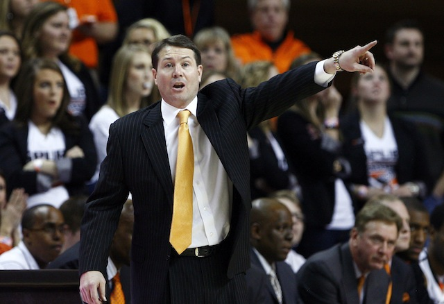 Had Travis Ford not guided Oklahoma State to the NCAA tournament this season, he might have felt heat. (USATSI)