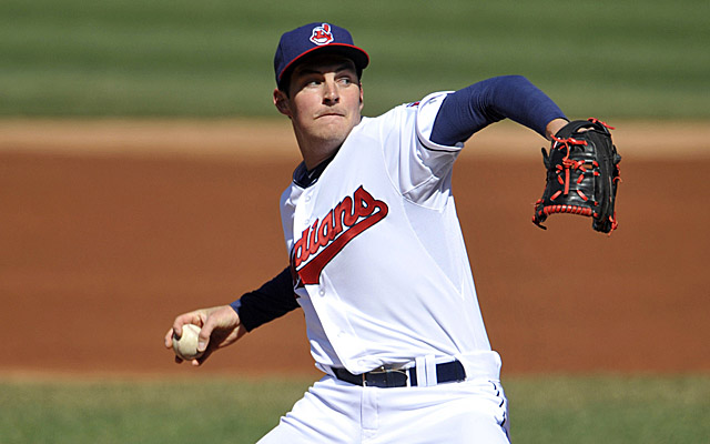 Trevor Bauer is headed to the Cleveland rotation.